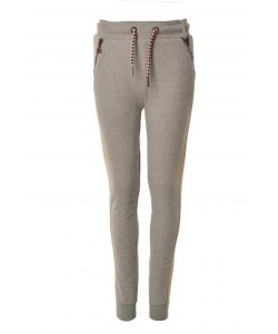 LIKE FLO Sweat-Hose glitzer grey melee