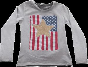 Blue Effect Langarm-Shirt/Longsleeve Amerika asche oil