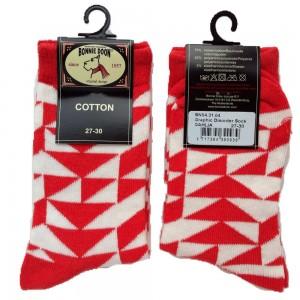 Bonnie Doon Socken GRAPHIC DISORDER dahlia