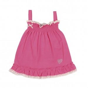 Mim-Pi Träger-Kleid pink