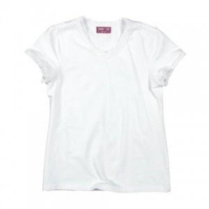 Mim-Pi Basic-T-Shirt ecru