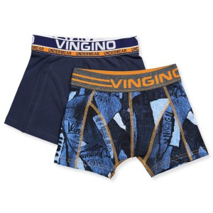 Vingino Boxer/Short 2er-Pack JUSTIN multicolor blue
