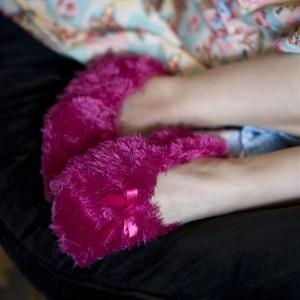 Bonnie Doon POWDER PUFF Hausschuhe pink