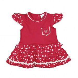 Mim-Pi Kleid rot