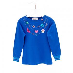 Mim-Pi Langarm-Shirt/Longsleeve blau