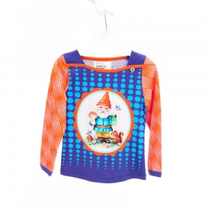 Mim-Pi Langarm-Shirt/Longsleeve Zwerg bunt