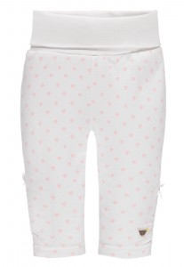 Steiff Legging Herzen barely pink / rose