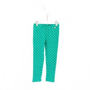 Mim-Pi Legging Punkte grün