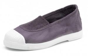 NATURAL WORLD Mädchen Schuhe mit Kappe anthrazit
