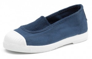 NATURAL WORLD Mädchen Schuhe mit Kappe blau