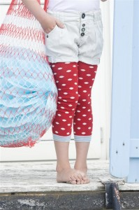 Bonnie Doon Juicy Dots Baby-Legging strawberry