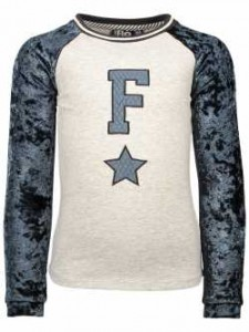 LIKE FLO Langarm-Shirt/Longsleeve ice blue