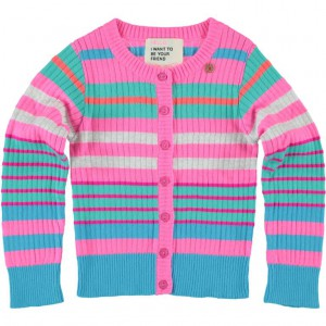Mim-Pi Cardigan/Strickjacke multicolor