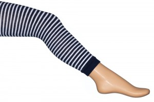 Bonnie Doon Legging Breton Stripe navy weiss