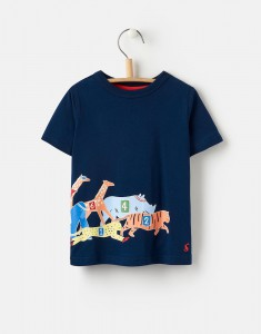 Joules Jungen T-Shirt GRAY race