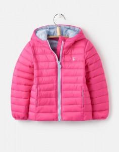 Joules Mädchen Stepp-Jacke mit Kapuze KINNAIRD pink