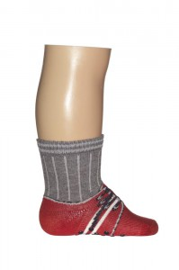 Bonnie Doon Baby Socken Sneaker rot