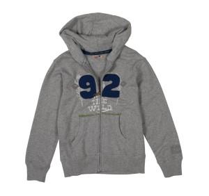 CKS Sweat-Jacke Devaro light grey
