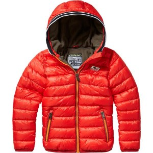 Vingino Winter-Jacke mit Kapuze TURAN burnt red