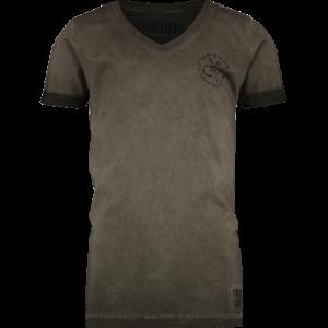 Vingino T-Shirt V-Ausschnitt HALUK camo green