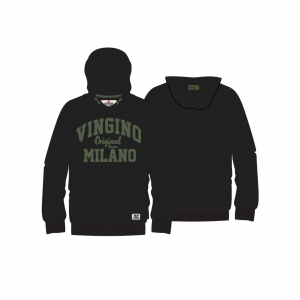 Vingino Kapuzen-Sweat-Shirt / Hoodie NIO black