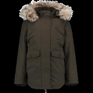 Vingino Winter Long-Jacke / -Mantel mit Kapuze TARIESE dark army