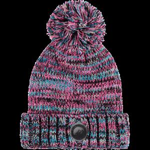 Vingino Winter-Mütze / Beanie mit Bommel VEZA black