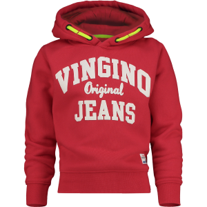 Vingino Kapuzen-Sweat-Shirt / Hoodie NICKAY classic red