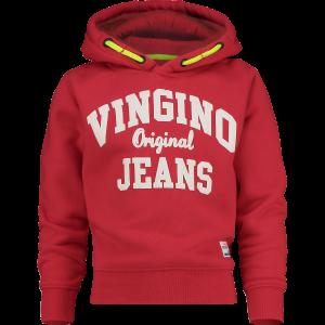 Vingino Kapuzen-Sweat-Shirt / Hoodie NICKAY classic red