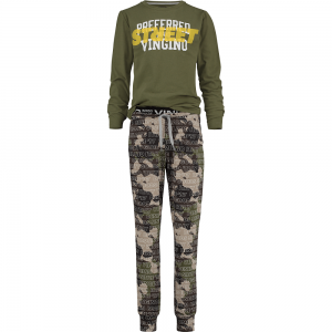 Vingino Schlafanzug/Pyjama WOLOF camouflage green 122/128 - S