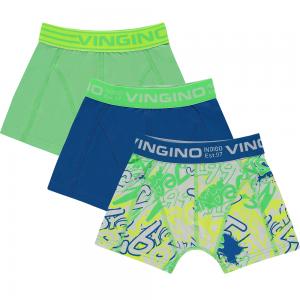 Vingino Boxer/Short 3er-Pack GRAFITY neon green