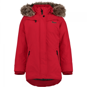 Vingino Winter Long-Jacke / -Mantel mit Kapuze TEISHA classic red