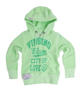 Vingino Kapuzen-Sweat-Shirt ALLESA neon green