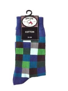 Bonnie Doon Socken MEGA PIXEL blau-grün
