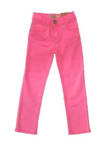 Blue Effect Mädchen coloured Jeans neon pink NORMAL
