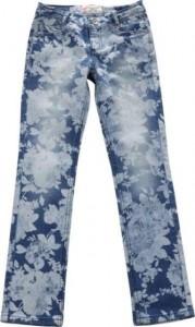 Blue Effect Mädchen Röhren Jeans denim laserprint floral