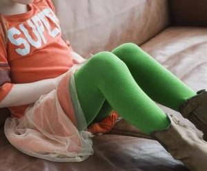 Bonnie Doon Basic Strumpfhose grün (jellybean)