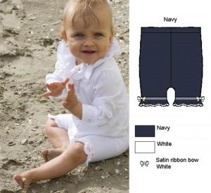 Bonnie Doon Baby Legging/Cute Shorts navy