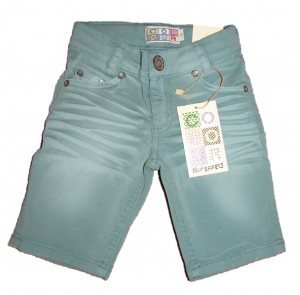 Blue Effect Jungen coloured Jeans-Bermuda menthol used