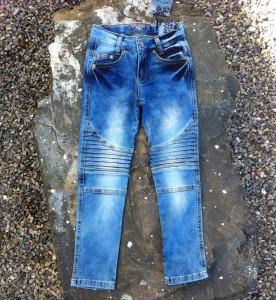 Blue Effect Mädchen Biker-Jeans blue denim light