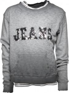 """Blue Effect Doppel-Langarm-Shirt/Longsleeve """"Jeans"""" grau"""
