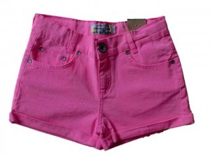 Blue Effect Mädchen coloured-Short neon pink