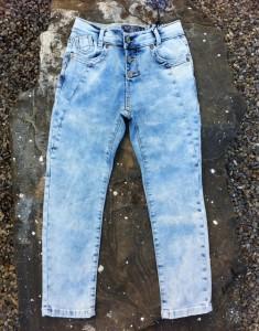 Blue Effect Mädchen Boyfriend Jeans ice washed