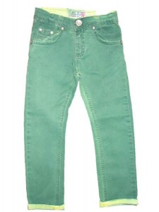 Blue Effect Jungen coloured Jeans limette/grün NORMAL