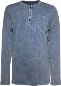 Blue Effect Langarmshirt/Longslleve batik dunkelblau