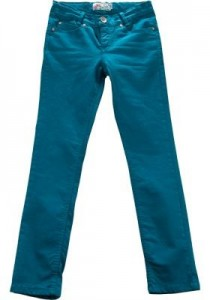 Blue Effect Mädchen coloured Jeans petrol oil WEIT/COMFORT