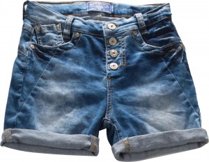 Blue Effect Mädchen Boyfriend-Jeans-Short blue denim