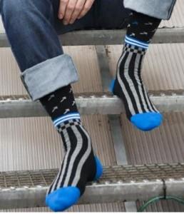 Bonnie Doon Kinder Socken Arrow schwarz