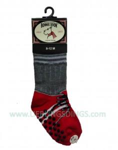 Bonnie Doon Baby Socken Sneaker rot Gr. 8-12m