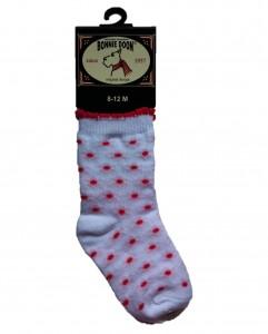 Bonnie Doon Baby Socken MEMORY LANE weiß/rosa